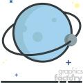 Planet vector clip art images