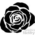 black rose svg cut file