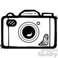 black white camera art