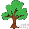 vector tree clipart