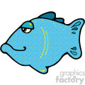 cartoon vector fish 009 c