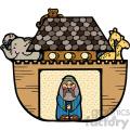 Noahs Ark vector cartoon art