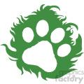 animal print vector icon