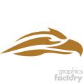 eagle head vector icon