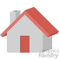 house vector flat icon clipart with no background