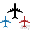 set of airplanes