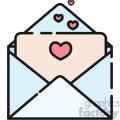 love envelope vector icon