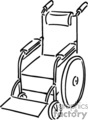 medical wheelchair wheelchairs   helth043_bw clip art medical  gif