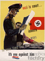 Nazi Is Smart Poster
