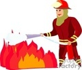 fireman firefighter firefighters 911 fire rescue hero heroes   1004firemen002 clip art people fire fighters  gif, jpg