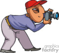 cartoon photographer
