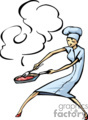 occupations work working occupational cook cooks chef cooking   working_032-c clip art people occupations  gif