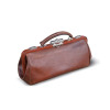 valise case doctor house call handle physician md medicine healthcare medical bag luggage brown leather   2j3002lowres photos objects